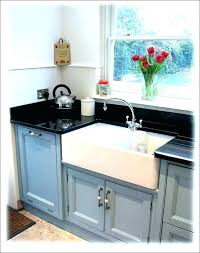 white kitchen sink with drainboard. Apron Sink With Drainboard White Farm Sinks Farmhouse Kitchen Inside . H