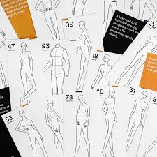 Poses For Fashion Illustration Womens Edition Fashionary