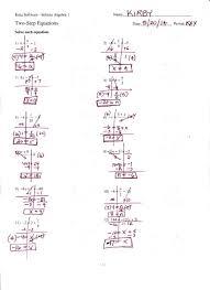 kuta math worksheets middle