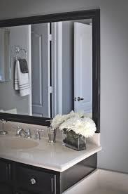 Bathroom Framed Mirrors Black Framed Bathroom Mirrors Laptoptabletsus