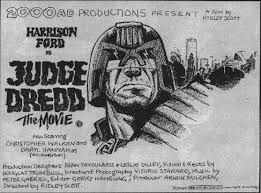 danny cannon made when he was a ager before he even dreamed of directing judge dredd 1995 he submitted it to a for 2000 a d and won