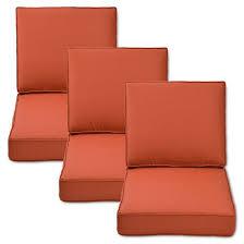 Belvedere 6 Piece Outdoor Replacement Patio Sofa Cushion Set