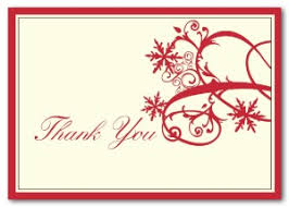 snowflake thank you cards printable red snowflake thank you card template