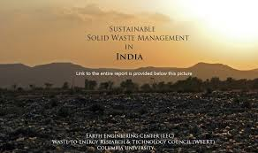 Sustainable Solid Waste Management In India: Conclusions