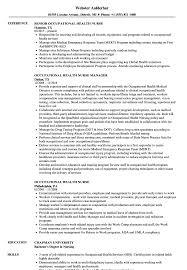 Occupational Health Nurse Resume Sample Occupational Health Nurse Resume Samples Velvet Jobs 1