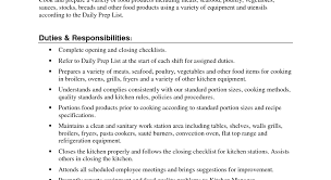 Sample Resume Cook Chef Resume Objective Chef Resume Objective