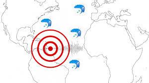 Violentissimo terremoto di magnitudo 8.6 nell'oceano ...