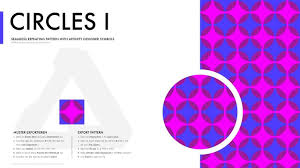 You saw these earlier in the article. Affinity Designer Pattern Circles I In This Tutorial I Will Explain How To Draw A Simple Seamless Repeating Ci Repeating Pattern Design Pattern Design Design