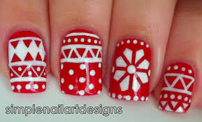 Holiday Sweater Nail Art Tutorial - YouTube