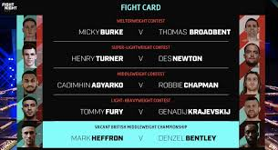Rumble in dar 2 let battle commence iv mathieu germain vs steve claggett ii from russia with glove: Boxing On Bt Sport On Twitter Friday Night Fight Night We Re All Set For A Great Night Of Entertainment Finishing With Heffronbentley2 Tune In To Bt Sport 1 Hd Now