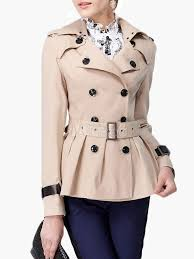 khaki double ted flared trench coat no 1
