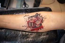 татуировки на тему азартных игр Gspriority