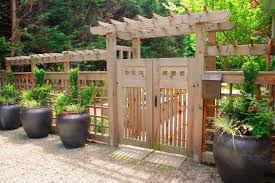 front yard fence design. 16 Amazing Wooden Fence Design Ideas EverCoolHomes Front Yard