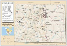 reference map of colorado usa  nations online project