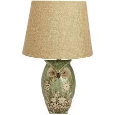 Lamps Gorgeous Owl Lamp For Home Decoration Sendiksonoaklandcom