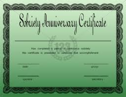 Military Certificate Templates Free Printable Anniversary Certificate Template Certificate 74
