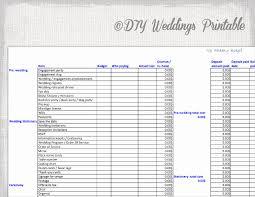 Sample Wedding Budget Spreadsheet Sample Wedding Budget Spreadsheet And 22 Wedding Bud