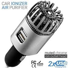 Car Air Purifier Ionizer - 12V Plug-in Ionic Anti ... - Amazon.com