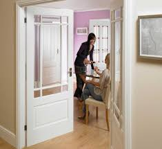 image of knotty alder interior doors design