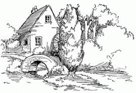 Small Picture Landscape Coloring Page 23 Grown Ups Amazing Landscape
