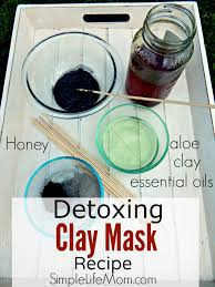 detoxing face mask recipe