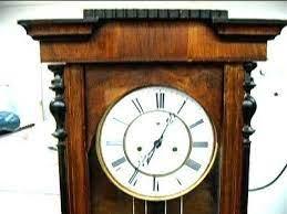 vienna reg gustav becker clock movement