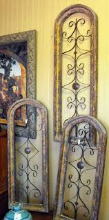With a full assortment of exterior lighting. Rustic Wood And Metal Wall Art In Three Different Sizes My Kind Of Style Iron Wall Decor Outdoor Wall Decor Rustic Wall Art