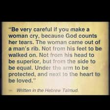 Jewish Quotes Unique The Talmud On Making A Woman Cry QUOTES Pinterest Crying