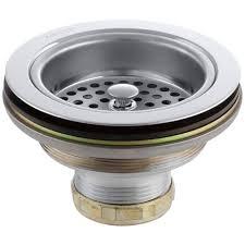 duostrainer 4 12 in sink strainer in polished chrome k 8799 cp sink strainer installation new