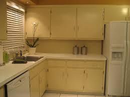 yellow and white painted kitchen cabinets. Kitchen:How To Beautiful Paint Old Kitchen Cabinets Ideas How Yellow And White Painted W