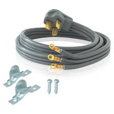 home wiring electric stove wiring diagram basic ez flo 4 ft 6 3 3 wire electric range cord 61241 the home depot6 3