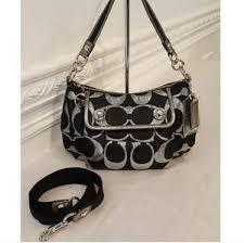 Coach Poppy Signature Lurex Bag