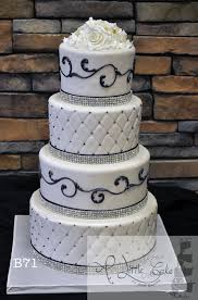 Quilted Fondant Wedding Cake - A Little Cake | A Little Cake & Quilted Fondant Iced Wedding Cake Adamdwight.com