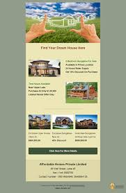 Real Estate Newsletter Template 24 Free Real Estate Email Templates For Agencies Realtors Real 23