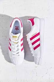 White And Light Pink Superstars Adidas Superstar Foundation Gs Running White Light Pink Metallic