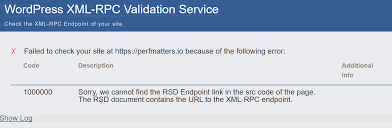 check if xml rpc is enabled