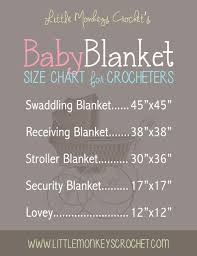 Baby Blanket Size Chart Google Search Baby Sewing Baby