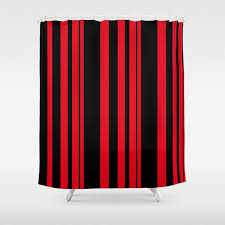 red striped shower curtain astonishing ideas black and red striped shower curtain