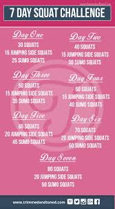 7 Day Squat Challenge Chart Check Out This Amazing 7 Day Squat Challenge Brilliant