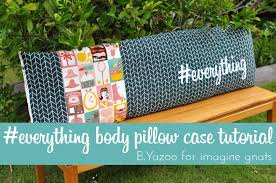 Make A Body Pillow Cover