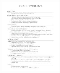 resume examples high school graduate best template ideas on student ...