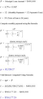 How To Amortize A Loan Amortization Formulas Math Calculators