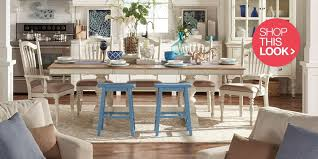 coastal dining room coastal furniture and decor ideas .