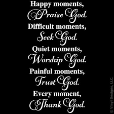 happy moments praise seek worship trust e vinyl wall decal sticker art removable words home decor white 22in x 38in