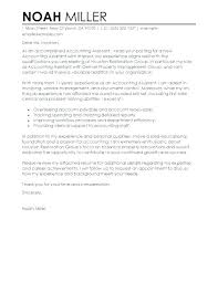 Sample Cover Letter Accounts Assistant Professional