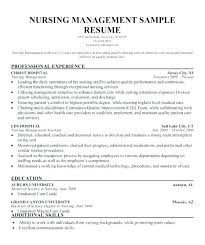 Nurse Manager Resume Impressive Dietitian Resume Example Sample Clinical Nurse Manager Entry Level