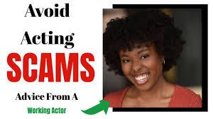 a talent agent for legit acting jobs