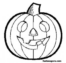 Small Picture Pumpkin Printable Coloring Pages Fun for Halloween