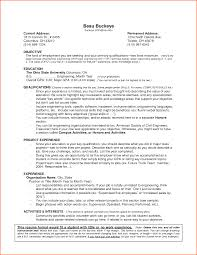 No Experience Resume Sample Templates Example Sevte