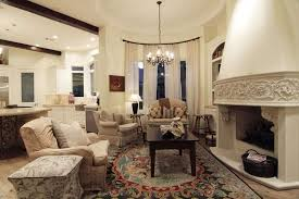 Keeping Room With Fireplace And Area Rug A Keeping Room In Your